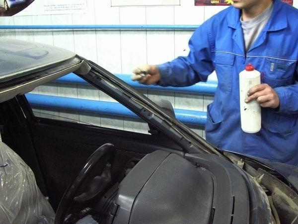 Замена лобового стекла на ваз 21214 своими руками