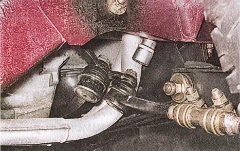 Замена рулевой трапеции ваз 2107 без ямы