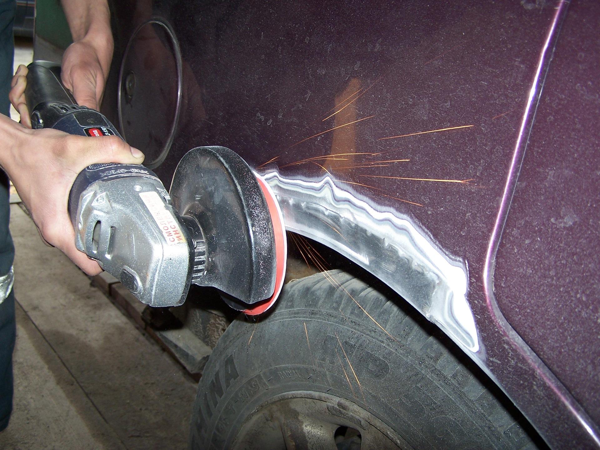 Шпаклевать машину своими руками