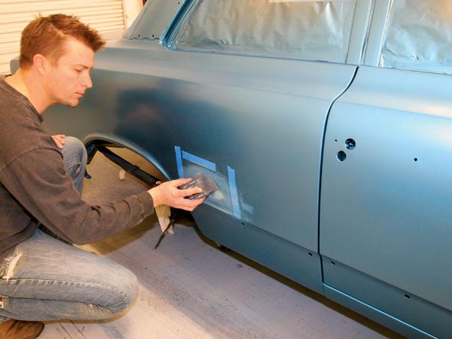 Покрасить машину своими руками