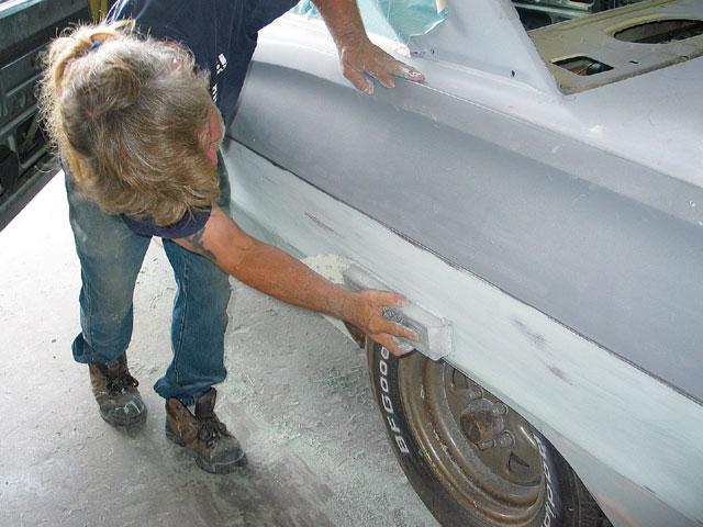 Авто шпаклевка покраска своими руками 75