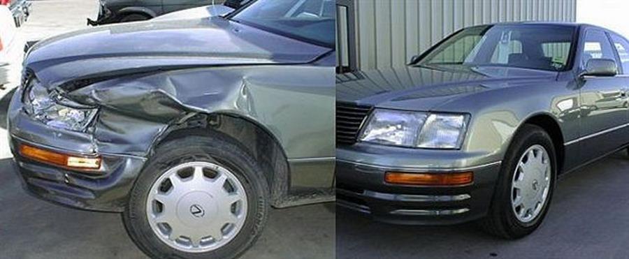 лишь При каких повреждениях машину тоталят самом