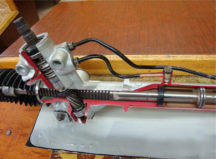 Ремонт рейки гидроусилителя своими руками