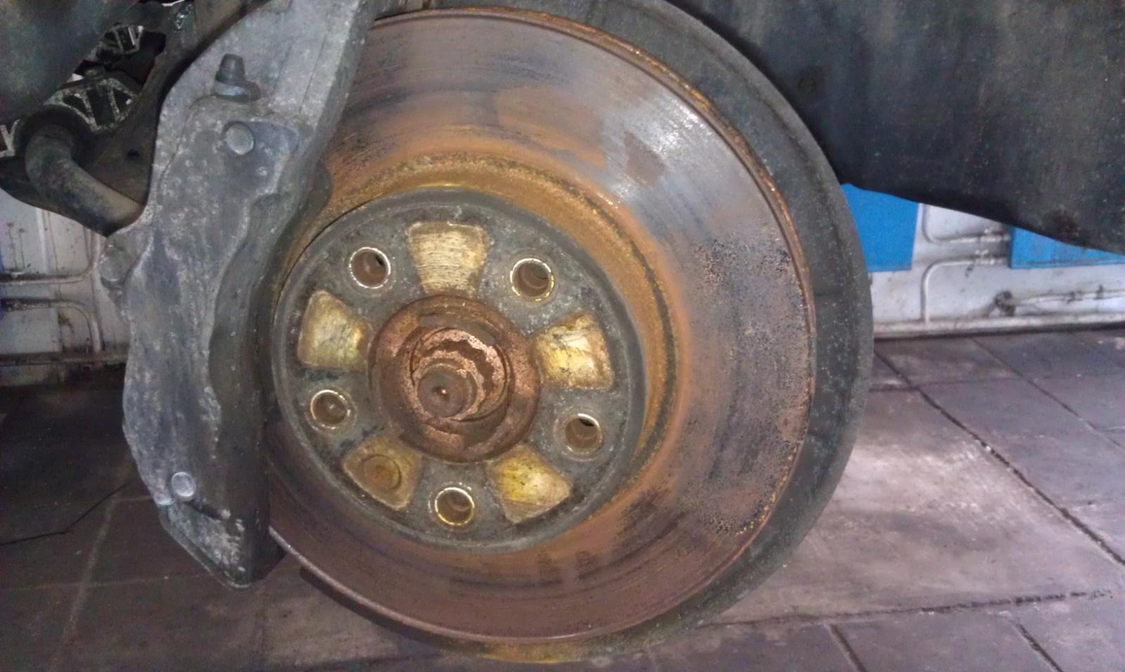 Машина долго стояла заржавели тормозные диски что делать 62