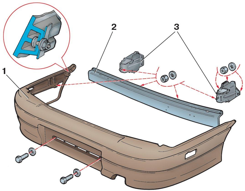 Ремонт пластикового бампера своими руками 63