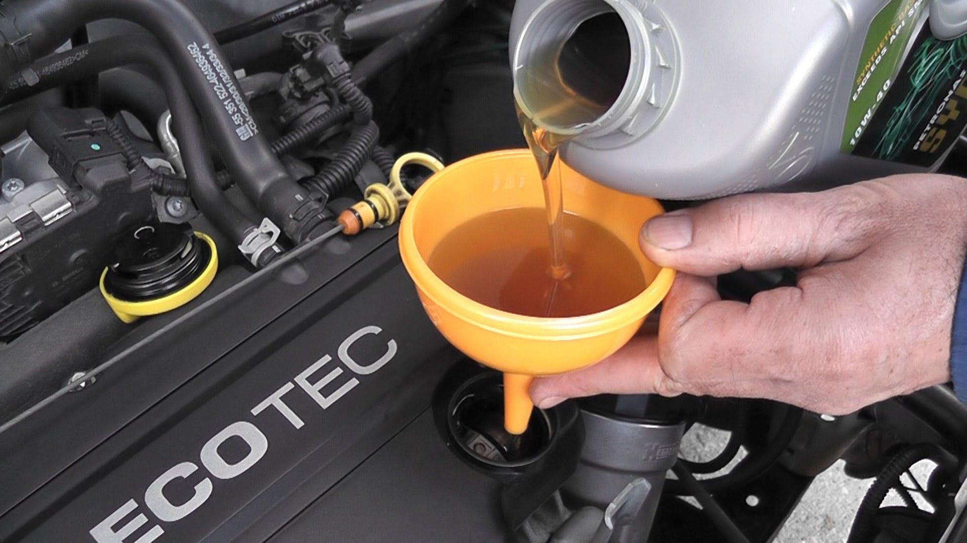 Замена масла и масляного фильтра своими руками