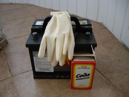 Картинки по запросу Десульфатация аккумулятора содой