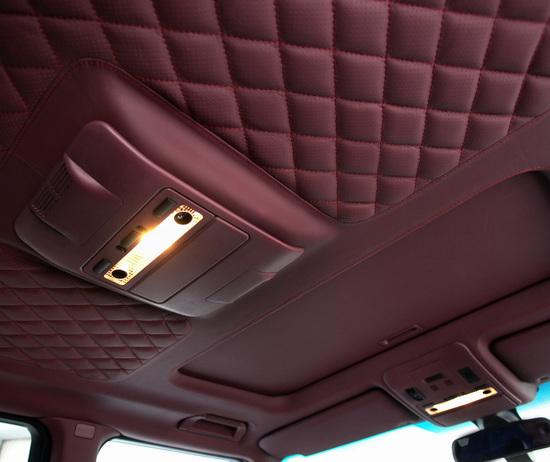 Ремонт потолка в автомобиле