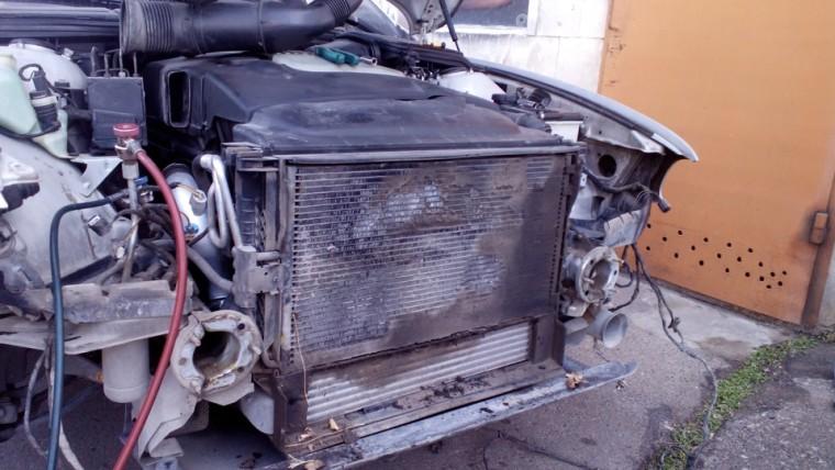 Замена двигателя бмв жидкости