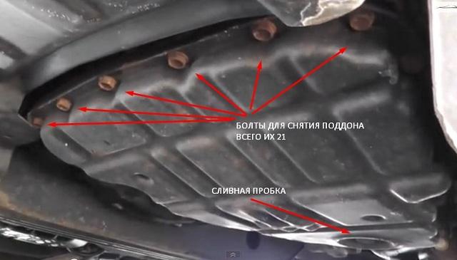 Замена масла в АКПП : полная частичная бортжурнал Nissan 32