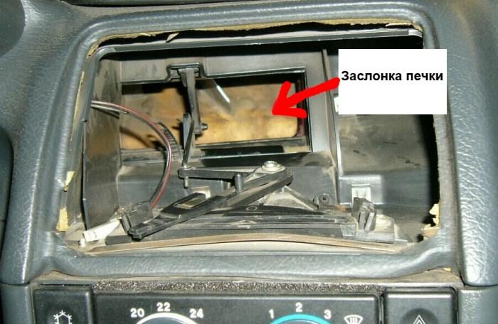 Ваз 2110 печка своими руками ремонт