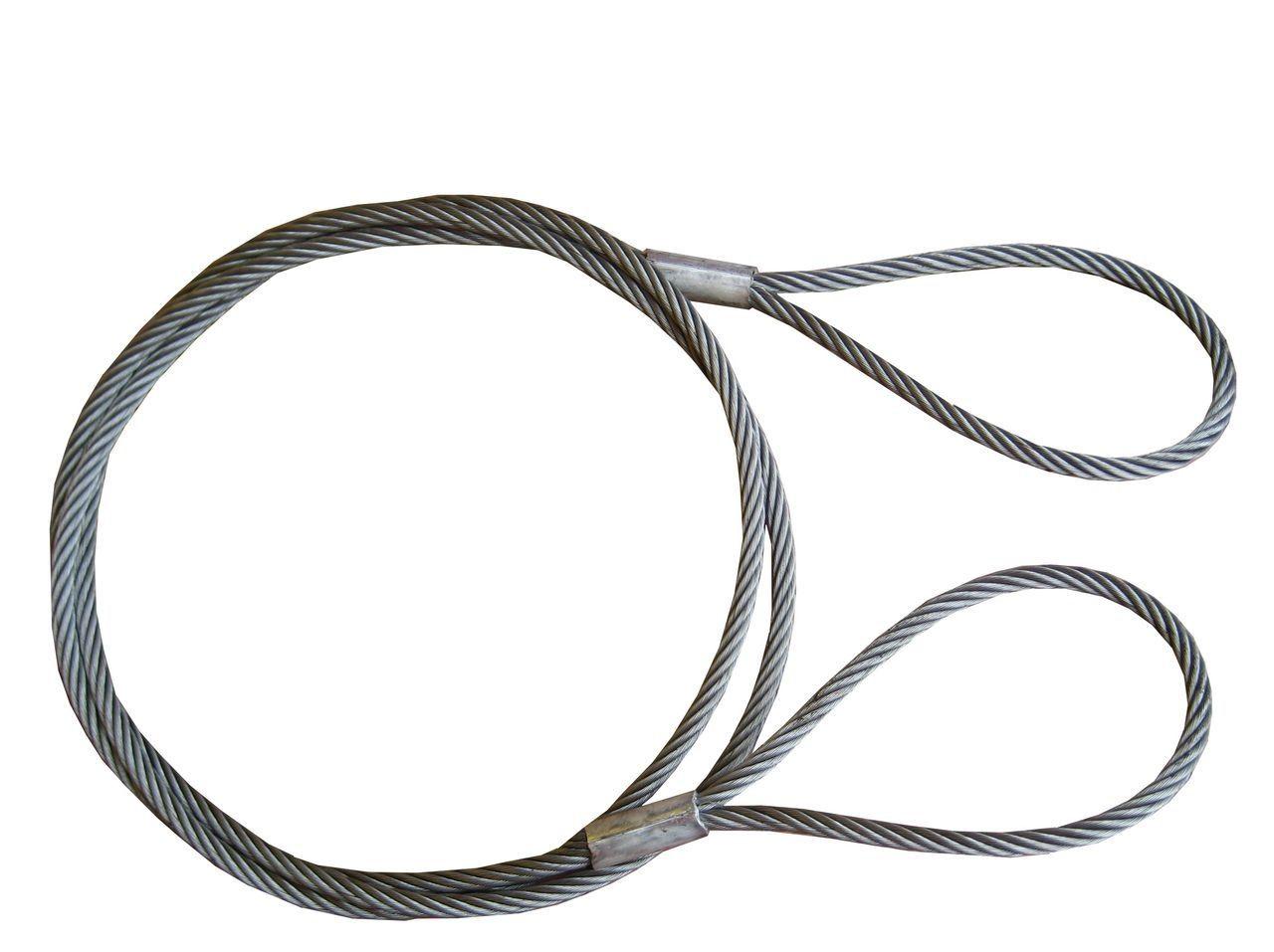 Трос буксировочный стальной