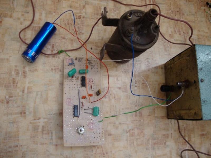 Простейший стробоскоп для установки зажигания