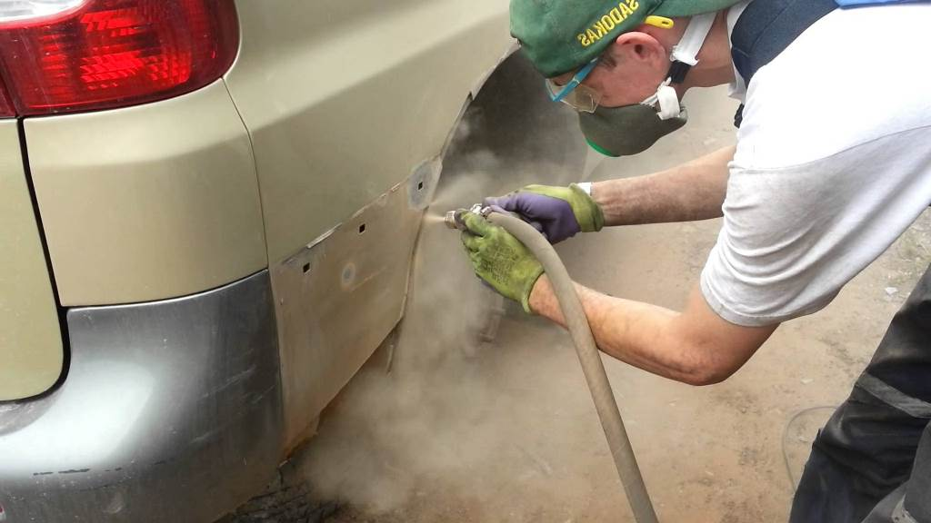 Как зачистить ржавчину на авто своими руками