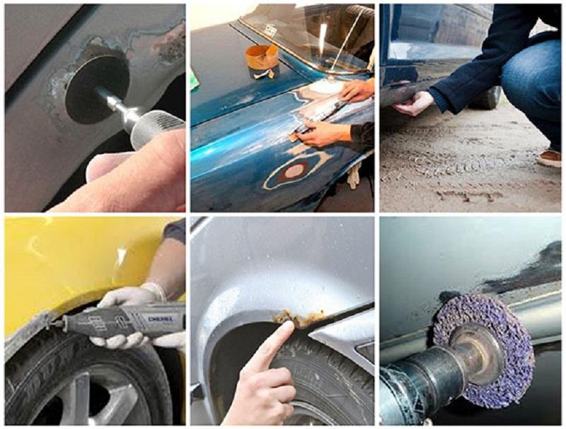 Чем отмыть краску с автомобиля своими руками 97