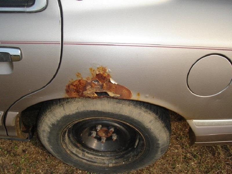 Борьба с ржавчиной на кузове автомобиля