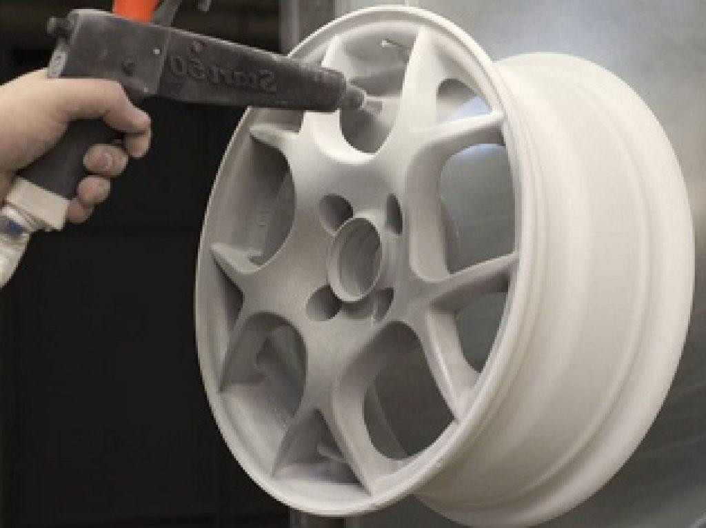 Как снять краску с дисков