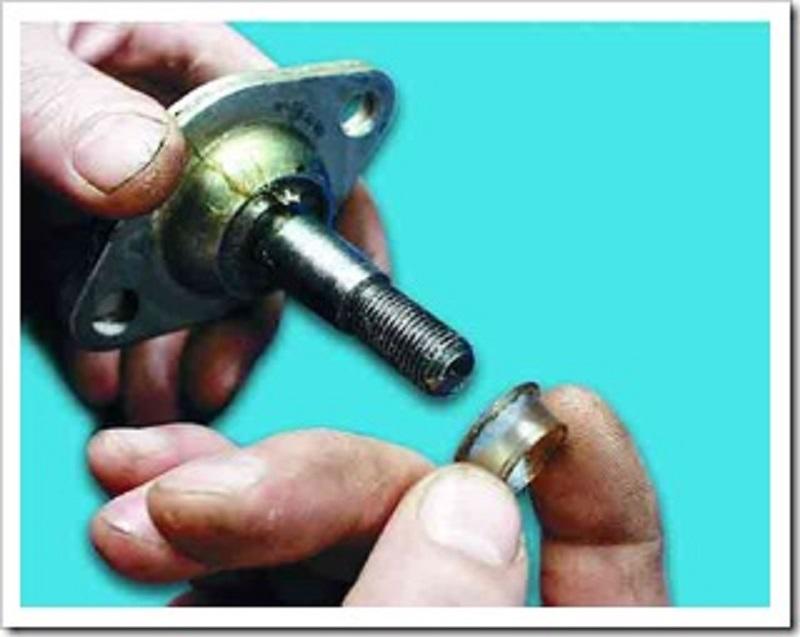 Как поменять шаровую опору, замена шаровой опоры ВАЗ 2110. Как заменить шаровую опору на ВАЗ 2110. Самостоятельная замена шарово