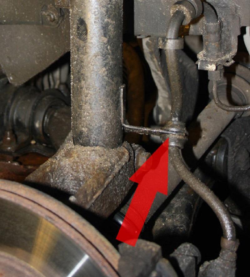 Замена переднего амортизатора форд фокус 3 своими руками 20