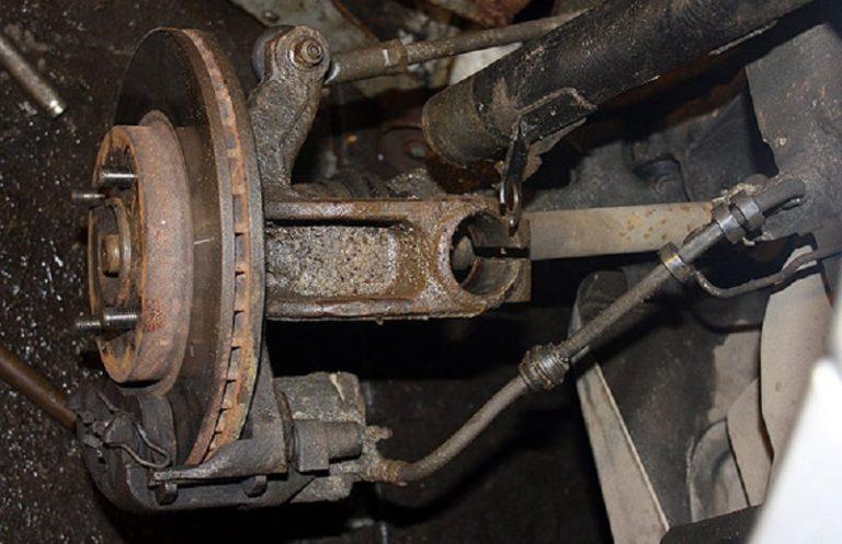 Замена переднего амортизатора форд фокус 3 своими руками 50