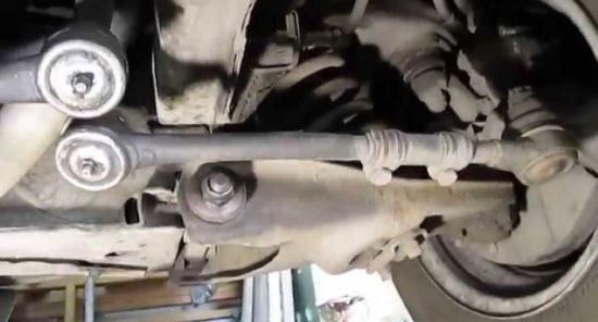 Замена средней рулевой тяги vw Замена привода в сборе шевроле ланос