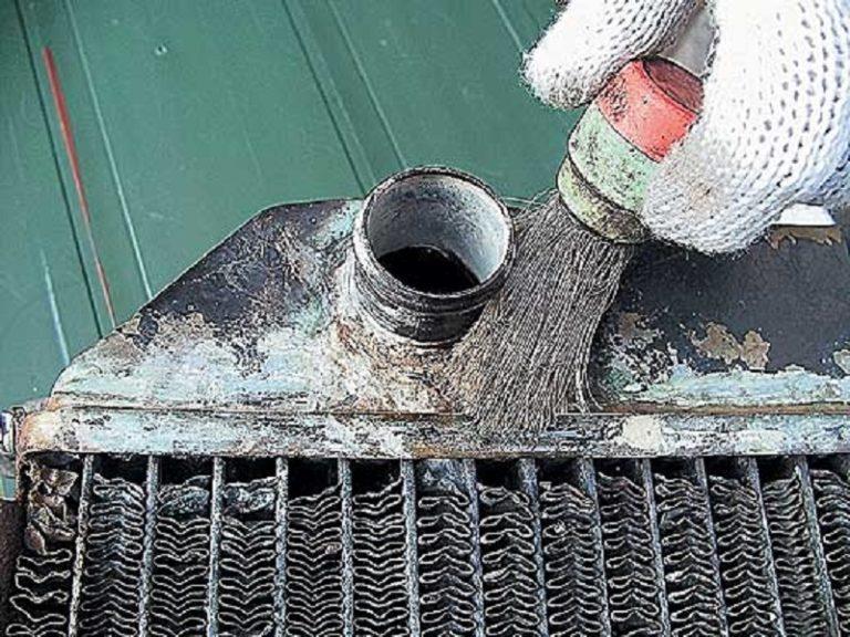 Сварка радиатора автомобиля своими руками 83