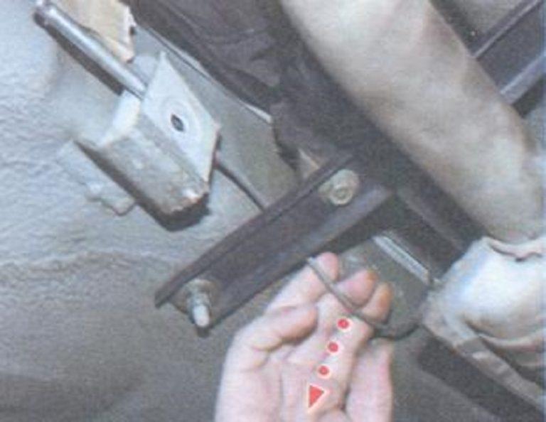Ремонт ручника ваз 2110 своими руками 37