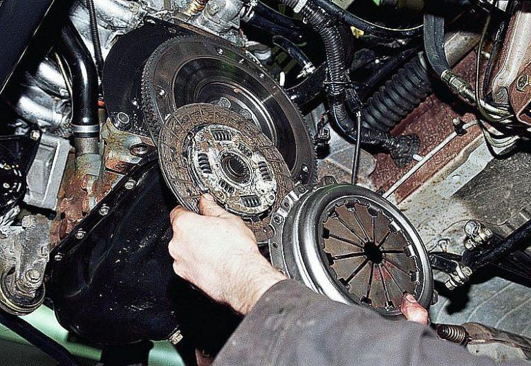 Ваз 2107 ремонт сцепления